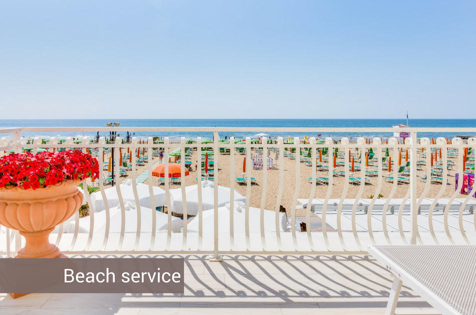 3 stars hotel in Jesolo with front sea view