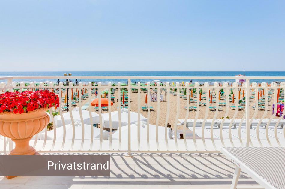3 Sterne Hotel in Jesolo direkt am Strand