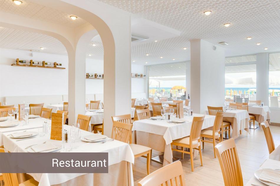 3 Sterne Hotel in Jesolo mit Restaurant